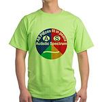 Autistic Spectrum logo Green T-Shirt