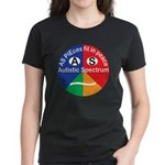 Autistic Spectrum logo Women's Dark T-Shirt