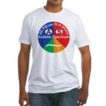 Autistic Spectrum logo Fitted T-Shirt
