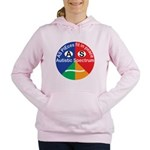 Autistic Spectrum logo Women's Hooded Sweatshirt