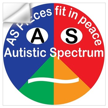 Autistic Spectrum logo Wall Art
