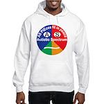 Autistic Spectrum logo Hooded Sweatshirt