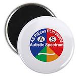 Autistic Spectrum logo Magnet
