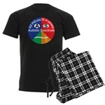 Autistic Spectrum logo Men's Dark Pajamas