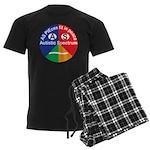Autistic Spectrum logo Men's Dark Pajamas