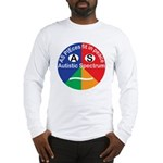 Autistic Spectrum logo Long Sleeve T-Shirt
