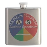 Autistic Spectrum logo Flask