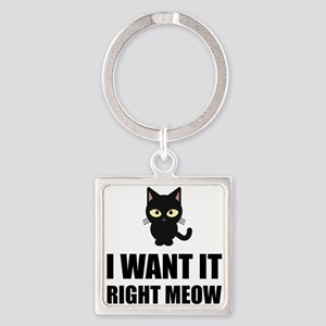 Right Meow Keychains