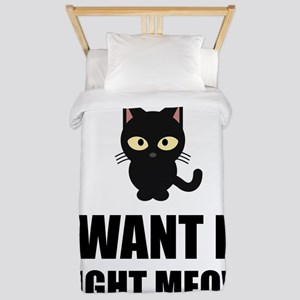 Right Meow Twin Duvet
