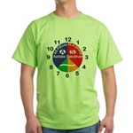 Autistic Spectrum logo Green T-Shirt