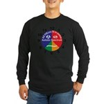 Autistic Spectrum logo Long Sleeve Dark T-Shirt