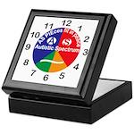 Autistic Spectrum logo Keepsake Box