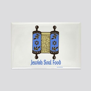 Jewish Soul Food Rectangle Magnet