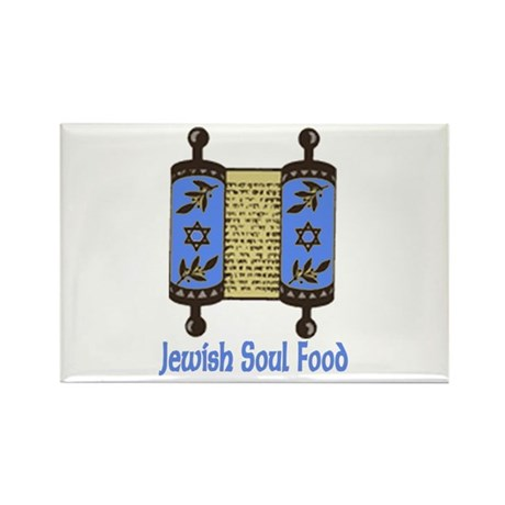 Jewish Soul Food Rectangle Magnet (10 pack)