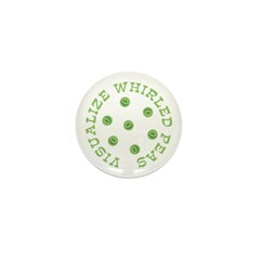 Visualize Whirled Peas Mini Button (100 pack)