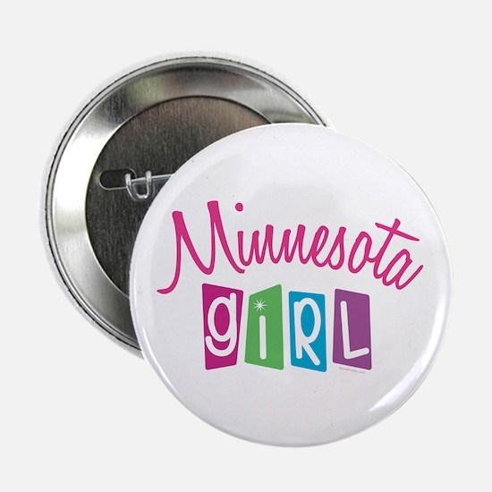 "MINNESOTA GIRL! 2.25"" Button (10 pack)"