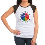 Autistic Spectrum logo Junior's Cap Sleeve T-Shirt