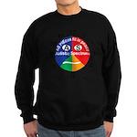 Autistic Spectrum logo Sweatshirt (dark)