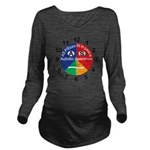 Autistic Spectrum lo Long Sleeve Maternity T-Shirt