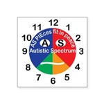Autistic Spectrum logo Square Sticker 3