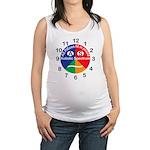 Autistic Spectrum logo Maternity Tank Top