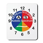 Autistic Spectrum logo Mousepad
