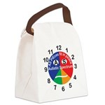 Autistic Spectrum logo Canvas Lunch Bag