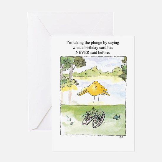Cynthia Bainton Birthday Cards (Pk of 10) -plunge