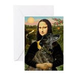 Mona / Greyhound(br) Greeting Cards (Pk of 10)