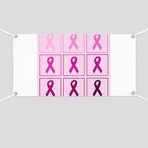 Pink Ribbon Box Banner