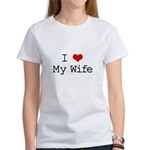 I Heart My Wife Women's T-Shirt