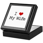I Heart My Wife Keepsake Box