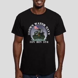 RivDiv574Black T-Shirt