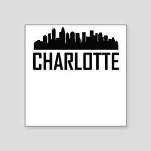 Skyline of Charlotte NC Sticker
