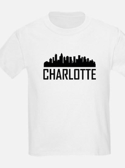 Skyline of Charlotte NC T-Shirt
