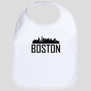 Skyline of Boston MA Bib