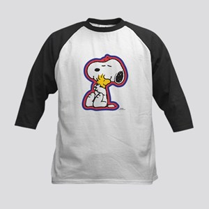 Peanuts Flair Snoopy and Woodstock Baseball Jersey