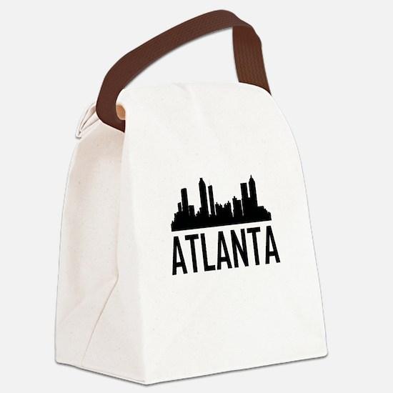 Skyline of Atlanta GA Canvas Lunch Bag