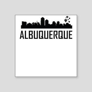 Skyline of Albuquerque NM Sticker