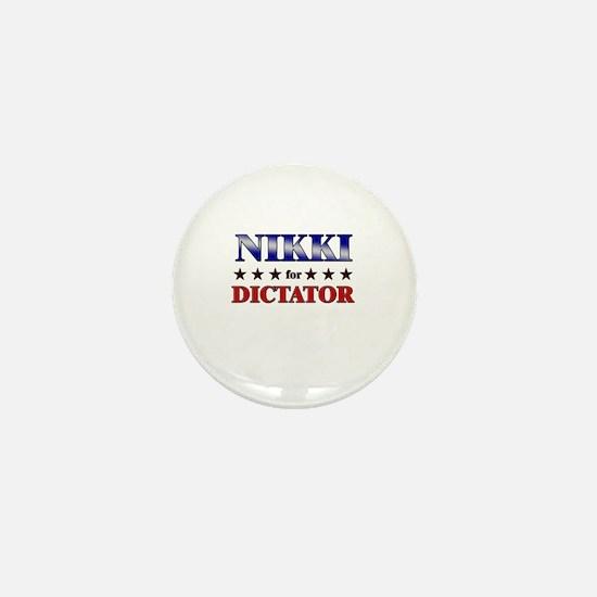 NIKKI for dictator Mini Button