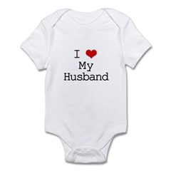 I Heart My Husband Infant Bodysuit