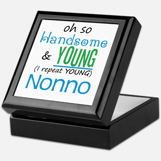 Handsome and Young Nonno Keepsake Box
