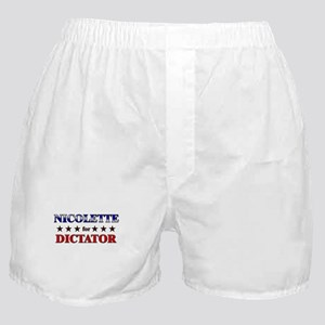 NICOLETTE for dictator Boxer Shorts