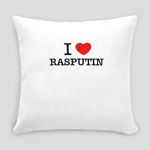 I Love RASPUTIN Everyday Pillow