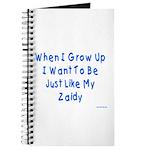 Just Like Zaidy Journal