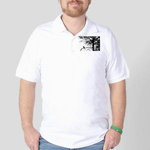 Raven Thoughts Golf Shirt