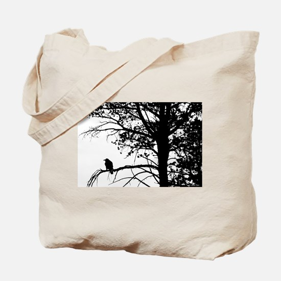 Raven Thoughts Tote Bag