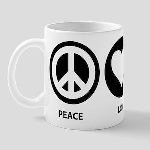 Peace Love Aquarius Mug