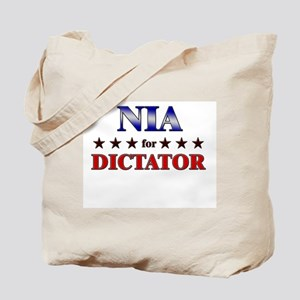 NIA for dictator Tote Bag
