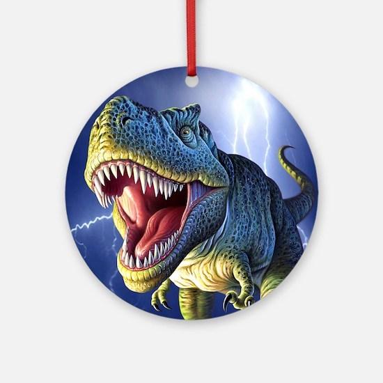 T-Rex 5 Ornament (Round)